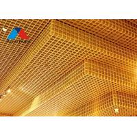 Quality Multifunction Metal Grid Ceiling Tiles , Fire Rated Aluminum Ceiling Grid wholesale