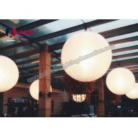Quality 2M Diameter Led Inflatable Lighting Decoration Hanging Ball Sphere Balloon wholesale