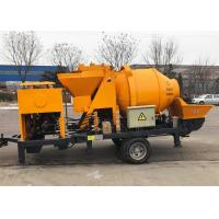 Quality Light Weight Mobile Foam Pump , Self Loading Concrete Mixer With Pump wholesale