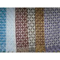 Quality Stretch Baby African / Africa Lace Fabric Colorful , Plain Pattern wholesale