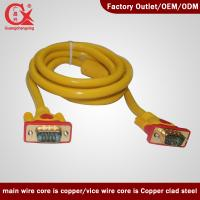 Quality VGA 3+6 Cable Male to Male VGA Cable make in china wholesale
