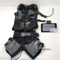 Wireless Vision body EMS machine suit wireless fitness ems training package 18 electrodes whole body muscles stimulate building