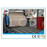 Quality 40Cr Main Shaft Sheet Roll Forming Machine , Sandwich Panel Forming Machine Optional Color wholesale