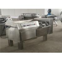 China Stainless Steel Casing Meat Dicer Machine For Chicken / Duck 2.25KW Power on sale