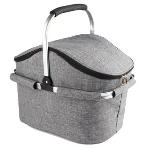 China Hand Collapsible BBQ Cooler Bag Folding Picnic Equipment Basket on sale