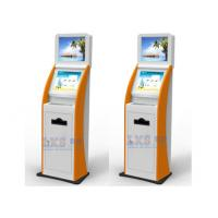 China Digital Picture Printing Kiosk Windows7 WIFI Internet Dual Screen Information on sale