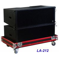 Quality LA-212 Line Array Speaker 3 way 1560W High Power Dynamic , Clarity for Big Concert , Show and Church wholesale