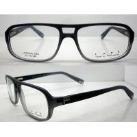 Quality Lightweight Men Acetate Eyeglasses Frames, Black Retro Handmade Glasses Frames wholesale
