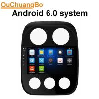 Quality Ouchuangbo HD 10.1digital screen androi 6.0 for Jeep Compass with mirror link 16ROM music GPS navigation system wholesale