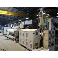 Buy cheap Pipe Extrusion Line yongxin Supply--pe pipe line--pipe extrusion machine from wholesalers
