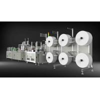 Quality Low Noise N95 Mask Making Machine , 4 Ply Face Mask Manufacturing Machine wholesale