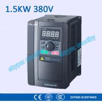 1.5kw 380V CNC Variable-Frequency Drive motor AC drive AC-DC-AC 50Hz/60Hz frequency converter transducer Three Phase VFD