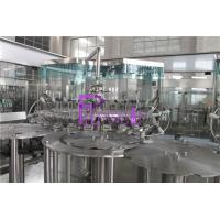 Quality Fruit Juice Hot Filling Machine 3 In 1 Monoblock Washing Filling Capping Machine wholesale