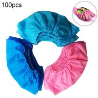 China Dustproof Medical Shoe Cover Non Slip 100pcs / Bag Disposable Thicken on sale