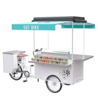 Quality Air - Cooled Beer Pedal Cart , Beer Bicycle Cart With Multi Function wholesale
