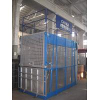 China 3 Ton Electric Industrial Elevators Single Cage With Aluminum on sale