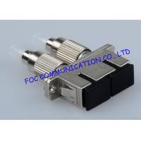 Quality FC - SC And FC - ST Hybrid Fiber Optic Adapter For FTTH , Ceramic Sleeve wholesale