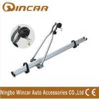Quality 4wd automobile upright Aluminium roof bike carrier for locking up 1 bicycle wholesale