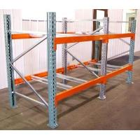Buy cheap Safe Teardrop Racking System Large Scale Galvanized / Powder Coating Finishing from wholesalers