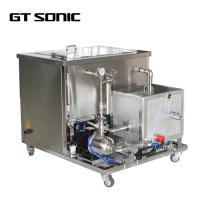 Quality 2520W 206L Industrial Sonic Bath Large Capacity 28/40kHz With Filter / Oil Skimmer wholesale