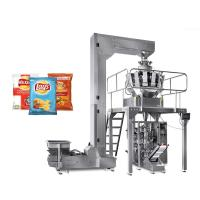 Buy cheap VFFS Multihead Weigher Packing Machine For Snack Popcorn Rice Chips 50-2KG from wholesalers