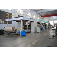 China Corrugated Carton Making Machines , 1800mm Width Cardboard Production Line on sale