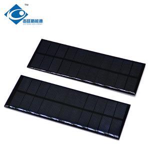 Quality Custom Mini Epoxy Solar Panel for solar power toys ZW-155575 solar panel photovoltaic For electric bike solar charger wholesale