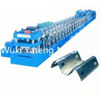 Quality Two Waves Guardrail Cold Roll Forming Machine Gear Box Driven System Forged Iron Side Plate wholesale