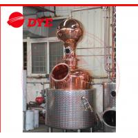 Quality Electricity Commercial Distilling Equipment Pot Still Alcohol Distiller wholesale