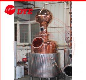 Quality Electricity Commercial Distilling Equipment Pot Still Alcohol Distiller wholesale