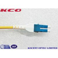 Buy cheap Uniboot LC Single Mode OS2 Fiber Optic Patch Cord 10m 15m 20m 30m LSZH from wholesalers
