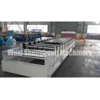 Quality PLC Controlled Sheet Metal Roll Forming Machine For Corrugated Wave Roof Panel wholesale