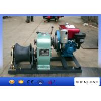 Quality Small 5 Ton Reversing Cable Pulling Tools Winch With Water Cooled Diesel Engine wholesale