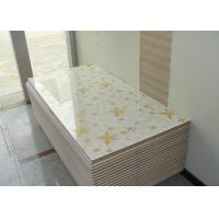 Quality High Glossy 4 x 8 MDF Board White Melamine Board 18mm For Kitchen Cabinet Door wholesale
