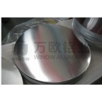 Quality Silver Round Metal Disk , 1050 H34 Aluminum Disk Blanks For Highway Road Sign wholesale