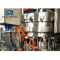 China Fully Automatic Carbonated Soda Water Filling Machine 200ml To 2000ml Bottle on sale