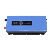 China 4000W 5000W 6000W Solar Charge Controller Inverter Built In 10A 60A PWM on sale