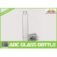 Quality 10ml Long Thin Custom Made Clear Perfume Glass Bottle With Screw Cap wholesale