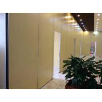 China Melamine Surface Interior Door Sliding Wall Track MDF Movable Partition for Indian Restaurant on sale