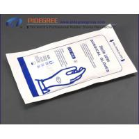 China White Powder Free Disposable Surgical Gloves , Latex Medical Gloves on sale