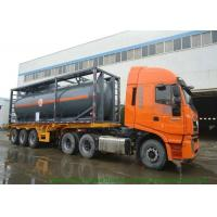 Quality Hydrofluoric Acid Shipping ISO Tank Container 30FT  / 40FT PE Lined Steel wholesale