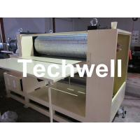 Quality 3.8 Ton MDF / Wood Embossing Machine with Up-Down Roll Heating Device wholesale
