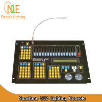 Quality Sunshine 512 Lighting Console Sunny 512 dmx Controller led light controller sunshine wholesale