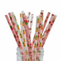 Quality Smooth Cutting Biodegradable Paper Drinking Straws  Coloured Paper Straws wholesale