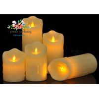 Quality Plastic Material LED Candle Light Battery Operated For Wedding , Night Club wholesale