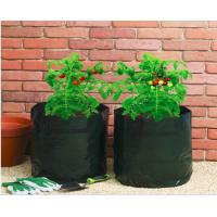 Quality Garden Potato Garden Plant Accessories PE Fabric Reusable Vegetable , Round small Grow Bag wholesale