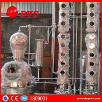Quality Home Copper Alcohol Still Copper Whiskey Stills Customized 200kg--50000kg wholesale