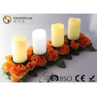 Quality Battery Operated Advent Candles , Flameless Candles With Remote wholesale
