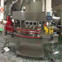 Quality Protective Ring Caps Automatic Packaging Machine Capping Screwing Machine For Big Bottles wholesale