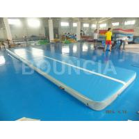 Quality Double Wall Fabric Material Gymnastics Air Track , Inflatable Air Track wholesale